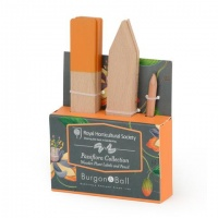 Wooden Garden Labels Orange Tips Burgon & Ball