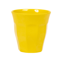 Yellow Melamine Cup by Rice DK