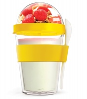 YO2GO Yellow Reusable Yogurt To Go Container