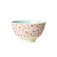 You Go Girl Print Small Melamine Bowl Rice DK