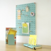 Blue Pegboard by Block Design the perfect noticeboard