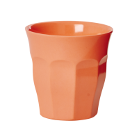 Rice Neon Pastel Coral Melamine Cup