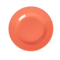 Pastel Neon Coral Melamine Side Plate by Rice DK