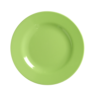 Pastel Neon Green Melamine Side Plate by Rice DK