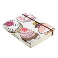 Small Chunky Notebook Caroline Gardner Cupcake Design