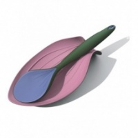 Zeal Silicone Spoon Rest Reflecting Nature Range Lily Petal