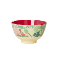 Tropical Print Small Melamine Bowl By Rice DK